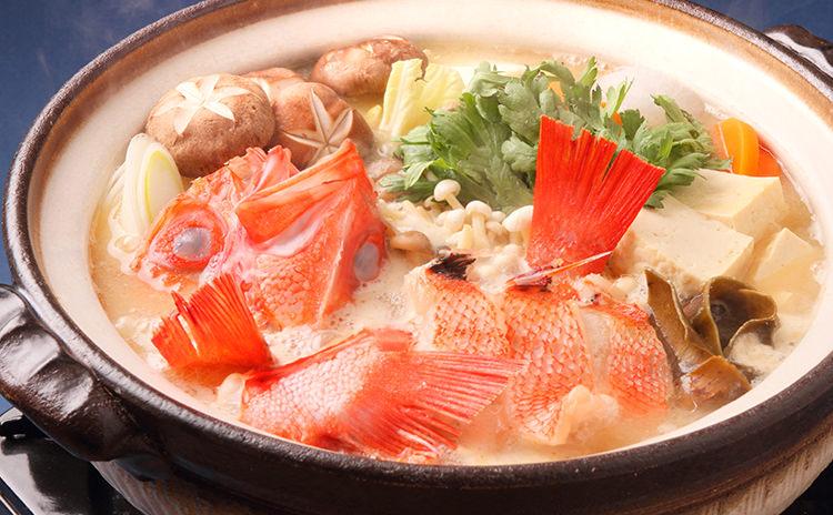 北海道産キンキの味噌仕立て鍋セット