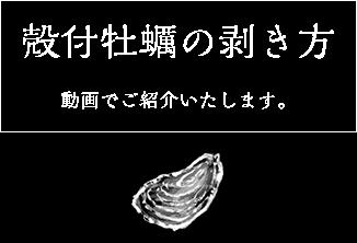 殻付牡蠣の剥き方 動画撮影しました!