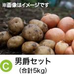 C) 男爵セット(合計5kg)